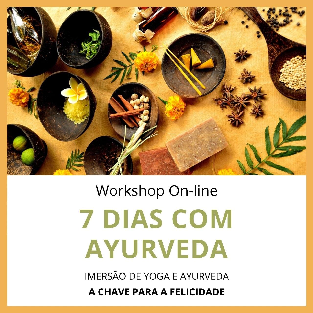 7 dias com Ayurveda