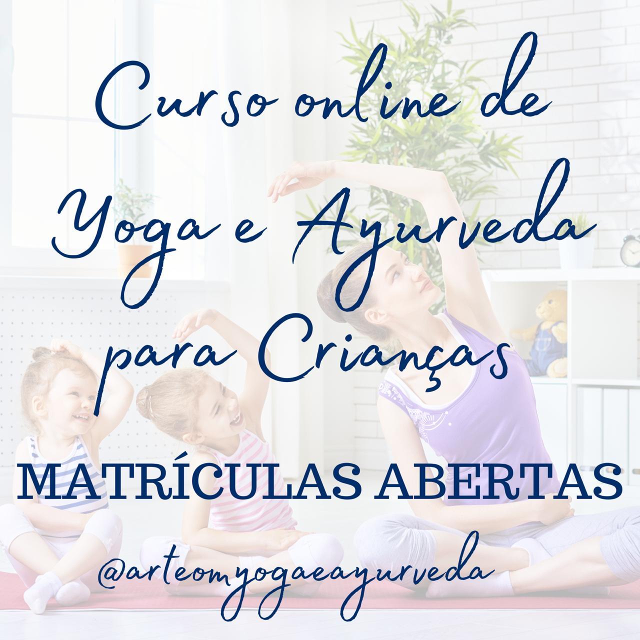 Curso de Yoga e Ayurveda para Crianças