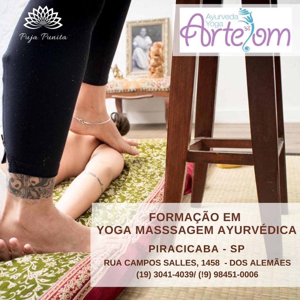 Formação em Yoga Massagem Ayurvédica